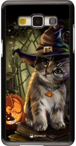 Coque Samsung Galaxy A5 (2015) - Halloween 21 Witch cat