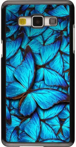 Coque Galaxy A5 (2015) - Papillon bleu