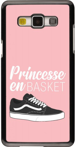 Coque Samsung Galaxy A5 (2015) - princesse en basket