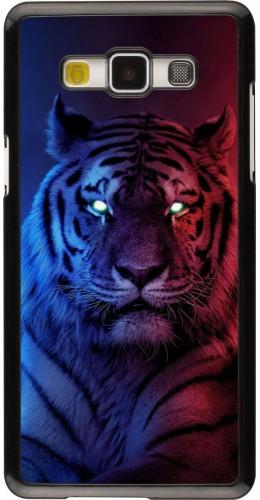 Coque Samsung Galaxy A5 (2015) - Tiger Blue Red