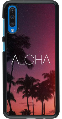 Coque Samsung Galaxy A50 - Aloha Sunset Palms