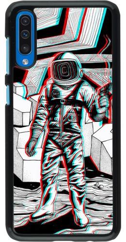Coque Samsung Galaxy A50 - Anaglyph Astronaut