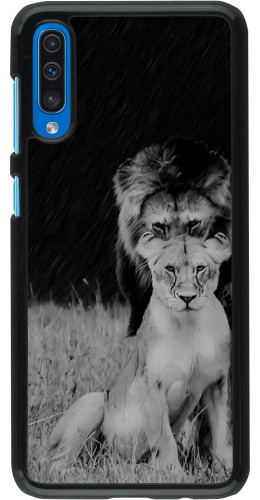 Coque Samsung Galaxy A50 - Angry lions