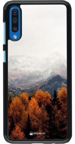 Coque Samsung Galaxy A50 - Autumn 21 Forest Mountain