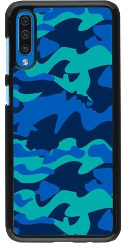 Coque Samsung Galaxy A50 - Camo Blue