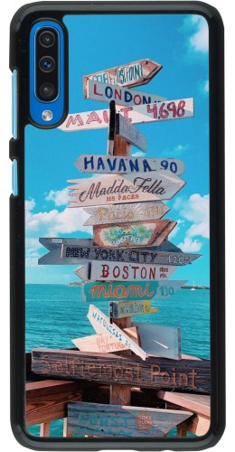 Coque Samsung Galaxy A50 - Cool Cities Directions
