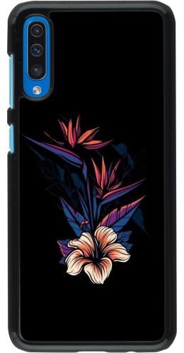 Coque Samsung Galaxy A50 - Dark Flowers