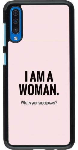 Coque Samsung Galaxy A50 - I am a woman
