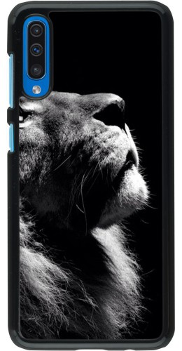 Coque Samsung Galaxy A50 - Lion looking up