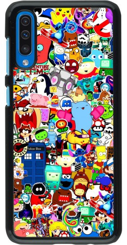 Coque Samsung Galaxy A50 - Mixed cartoons