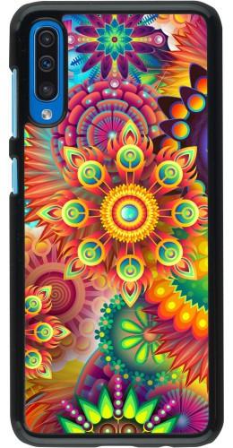 Coque Samsung Galaxy A50 - Multicolor aztec