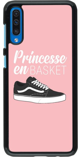 Coque Samsung Galaxy A50 - princesse en basket
