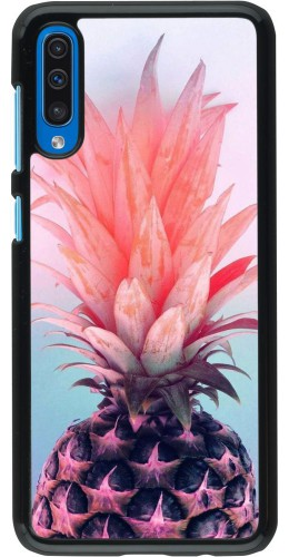 Coque Samsung Galaxy A50 - Purple Pink Pineapple