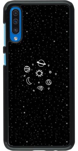 Coque Samsung Galaxy A50 - Space Doodle