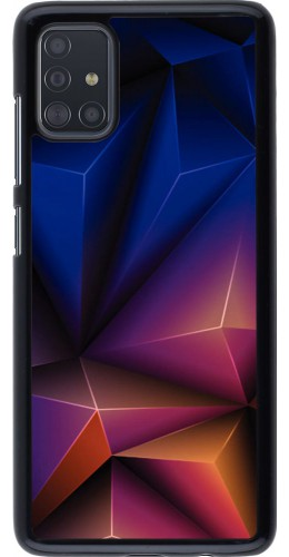 Coque Samsung Galaxy A51 - Abstract Triangles