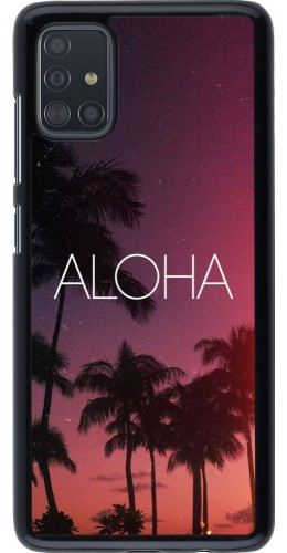 Coque Samsung Galaxy A51 - Aloha Sunset Palms