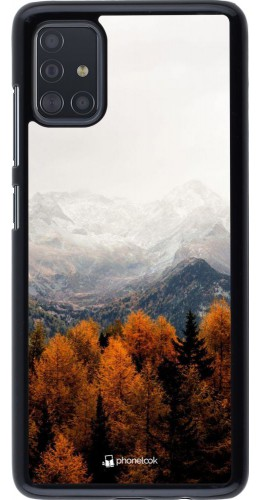 Coque Samsung Galaxy A51 - Autumn 21 Forest Mountain