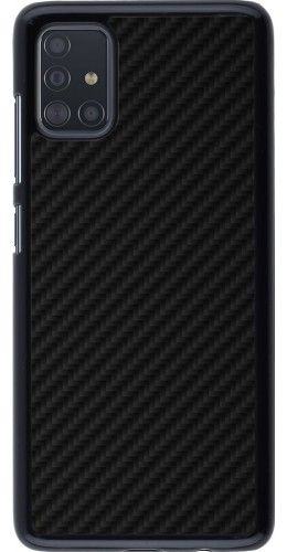 Coque Samsung Galaxy A51 - Carbon Basic