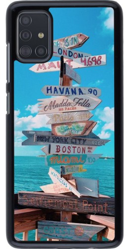 Coque Samsung Galaxy A51 - Cool Cities Directions