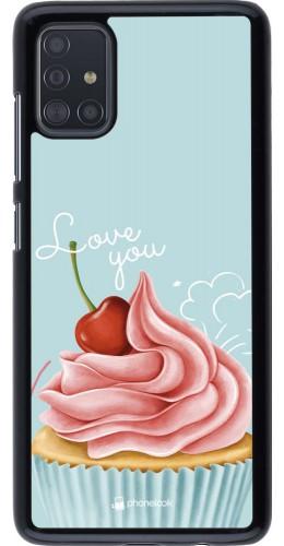 Coque Samsung Galaxy A51 - Cupcake Love You