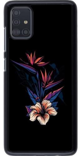 Coque Samsung Galaxy A51 - Dark Flowers