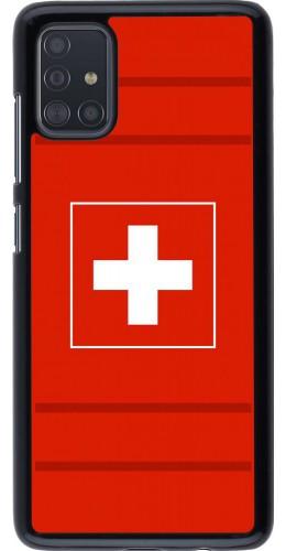 Coque Samsung Galaxy A51 - Euro 2020 Switzerland