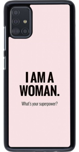 Coque Samsung Galaxy A51 - I am a woman