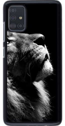 Coque Samsung Galaxy A51 - Lion looking up