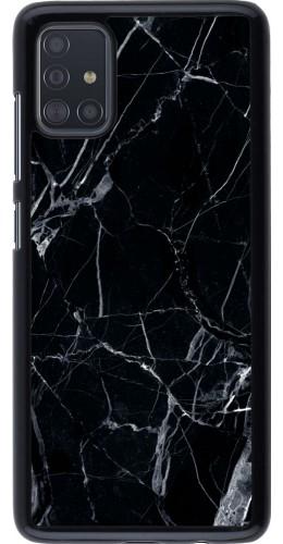 Coque Samsung Galaxy A51 - Marble Black 01