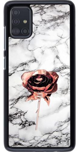 Coque Samsung Galaxy A51 - Marble Rose Gold