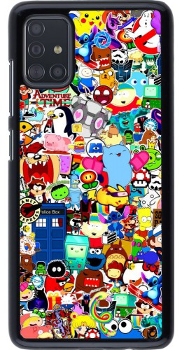 Coque Samsung Galaxy A51 - Mixed cartoons