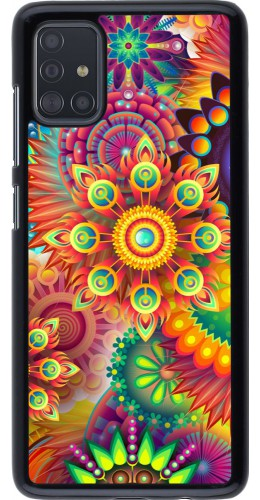Hülle Samsung Galaxy A51 - Multicolor aztec