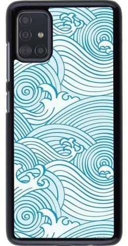 Coque Samsung Galaxy A51 - Ocean Waves