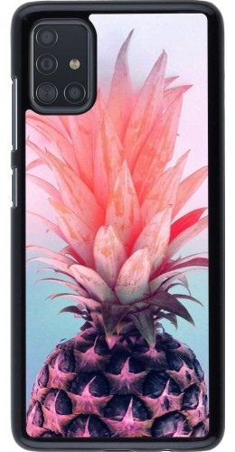 Coque Samsung Galaxy A51 - Purple Pink Pineapple