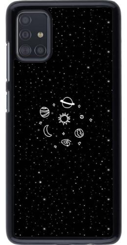 Coque Samsung Galaxy A51 - Space Doodle