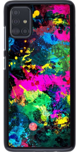Coque Samsung Galaxy A51 - splash paint