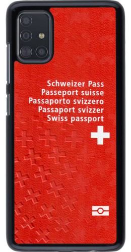 Coque Samsung Galaxy A51 - Swiss Passport