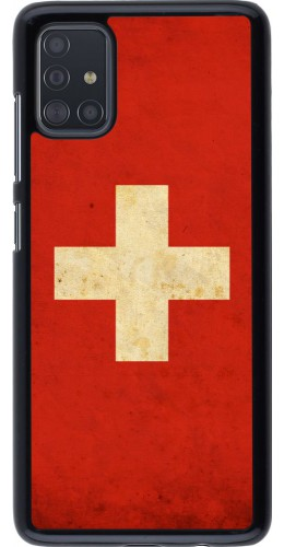 Coque Samsung Galaxy A51 - Vintage Flag SWISS