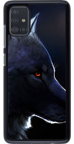 Coque Samsung Galaxy A51 - Wolf Shape