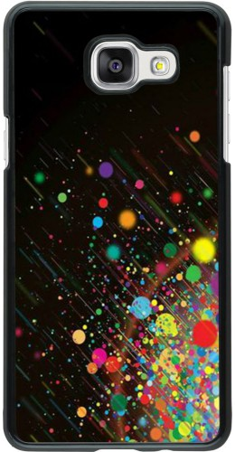 Coque Samsung Galaxy A5 (2016) - Abstract bubule lines