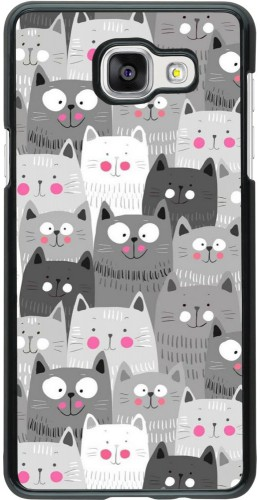 Coque Samsung Galaxy A5 (2016) - Chats gris troupeau