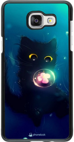 Coque Samsung Galaxy A5 (2016) - Cute Cat Bubble