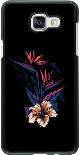 Coque Samsung Galaxy A5 (2016) - Dark Flowers