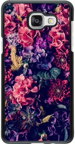 Coque Galaxy A5 (2016) - Flowers Dark