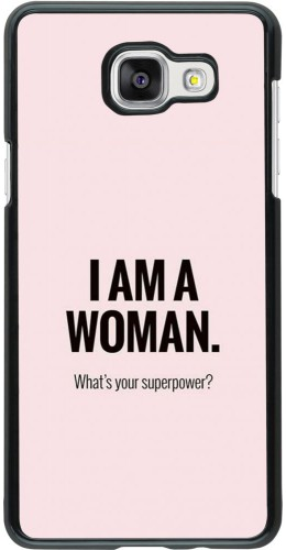 Coque Samsung Galaxy A5 (2016) - I am a woman