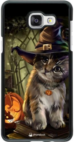 Coque Samsung Galaxy A5 (2016) - Halloween 21 Witch cat