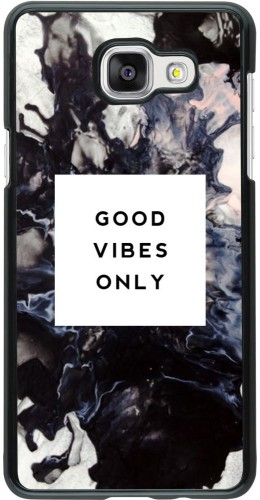 Coque Galaxy A5 (2016) -  Marble Good Vibes Only