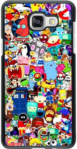 Coque Samsung Galaxy A5 (2016) - Mixed cartoons
