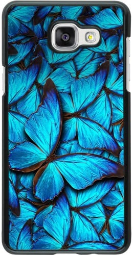 Coque Galaxy A5 (2016) - Papillon bleu