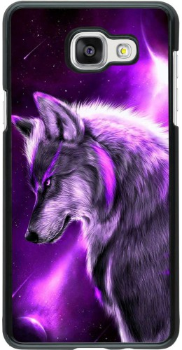 Coque Samsung Galaxy A5 (2016) - Purple Sky Wolf